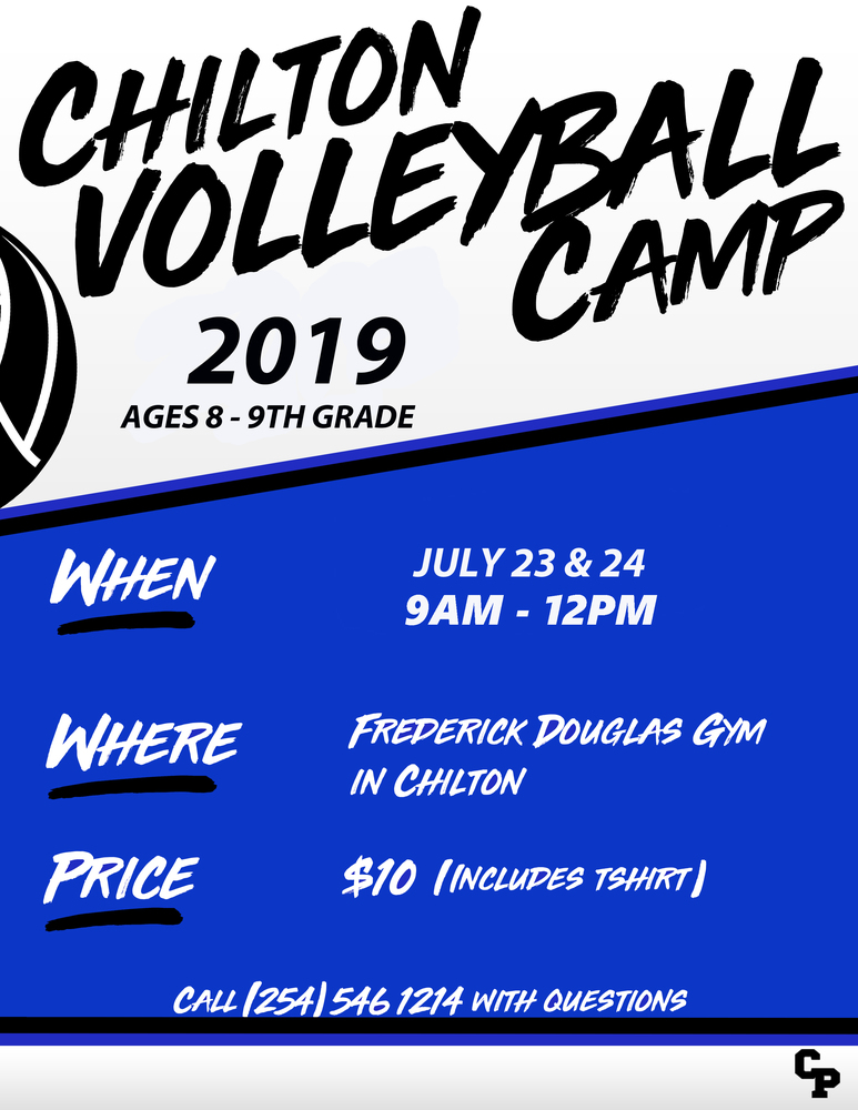 Chilton ISD Volleyball Camp