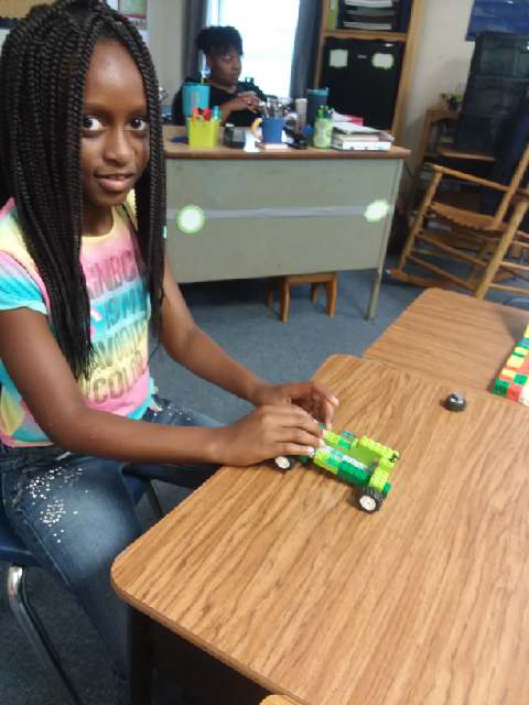 LEGO Car Construction