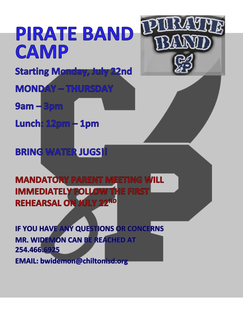 Band Camp Flyer