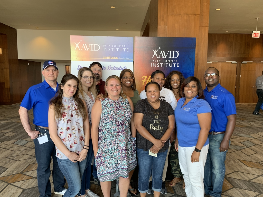 AVID Summer Institute 2019 Cohort