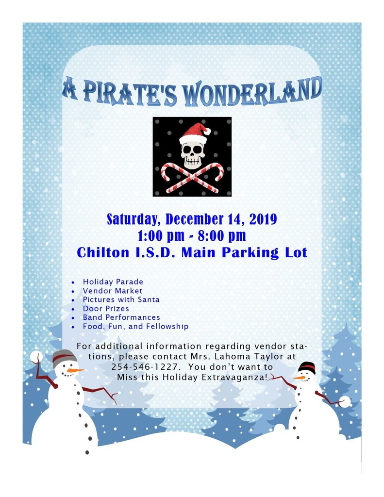 A Pirate's Wonderland Flyer